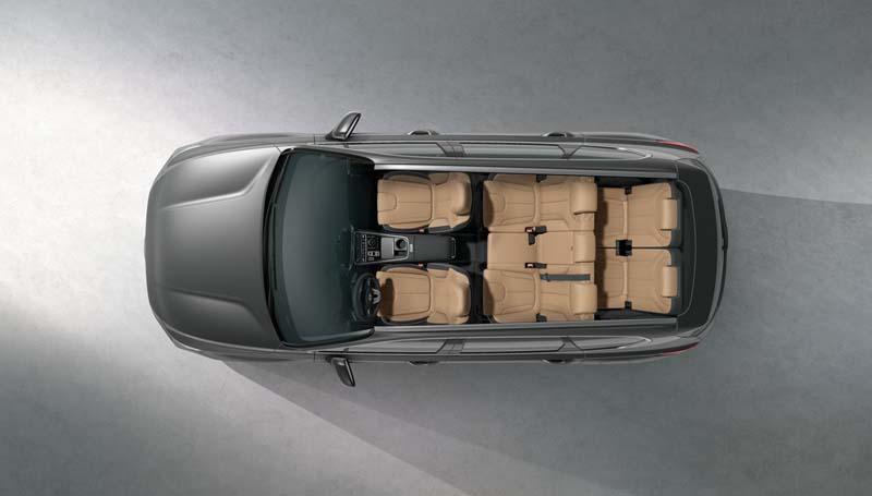 Hyundai Santa Fe PHEV 2021, foto siete plazas