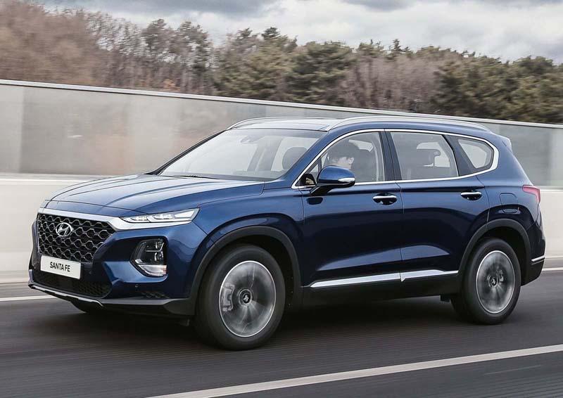 Hyundai Santa Fe 2018, foto delantera