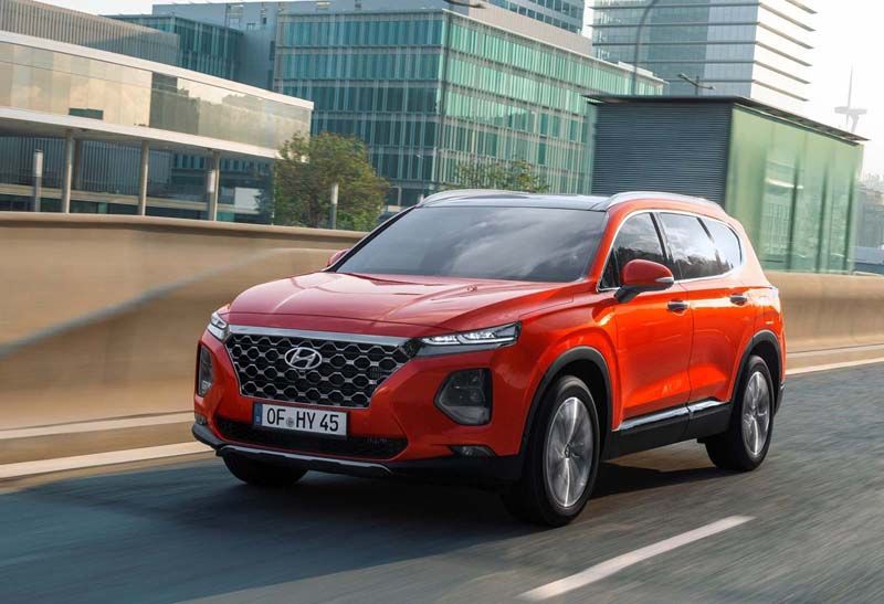 Foto Exteriores Hyundai Santa Fe Suv Todocamino 2018