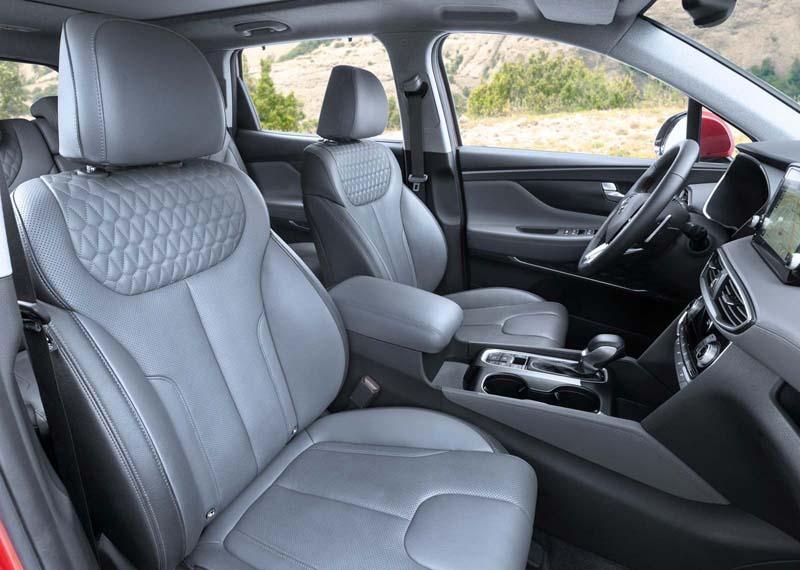 Foto Interiores Hyundai Santa Fe Suv Todocamino 2018
