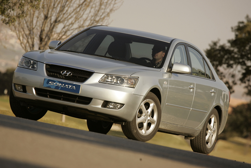 Foto Delantero Hyundai Sonata Sedan 2005