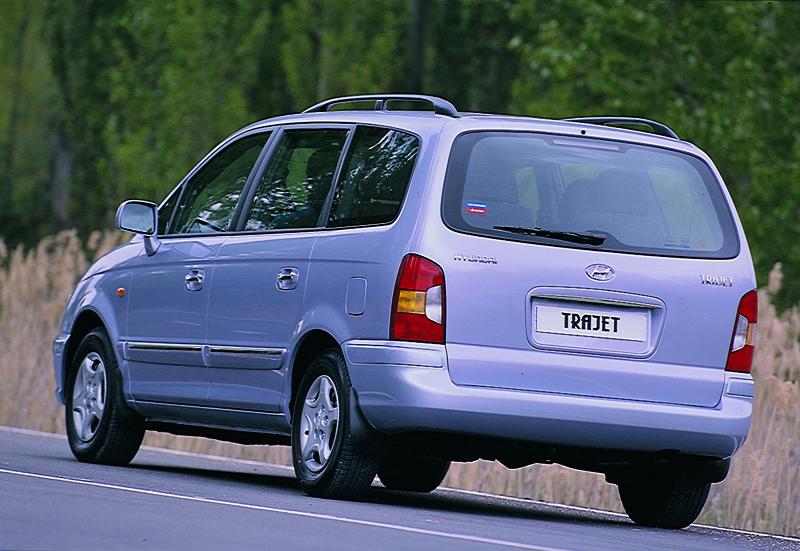 Foto Trasero Hyundai Trajet Monovolumen 1999