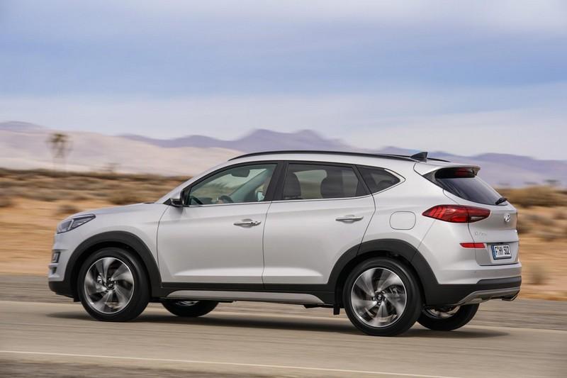 Foto Exteriores Hyundai Tucson Suv Todocamino 2018