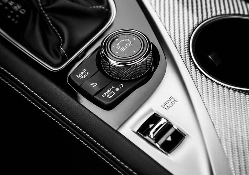 Infiniti Q60 2017, foto Drive Mode