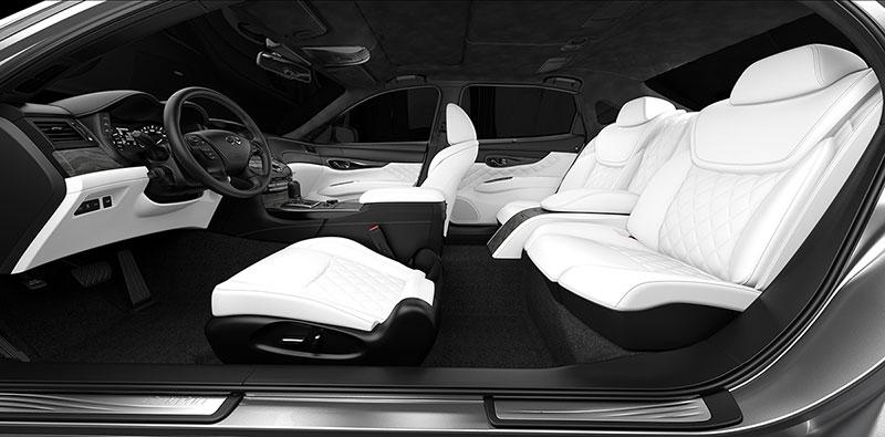 Foto Interiores Infiniti Q70l Bespoque Edition Concept 2015