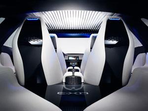 Foto Interiores (1) Jaguar Cx17 Concept 2013