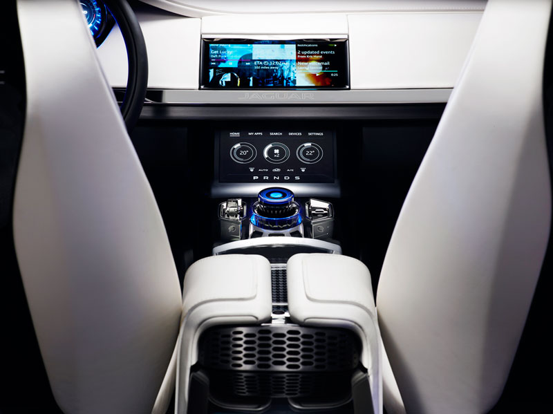 Foto Detalles Jaguar Cx17 Concept 2013