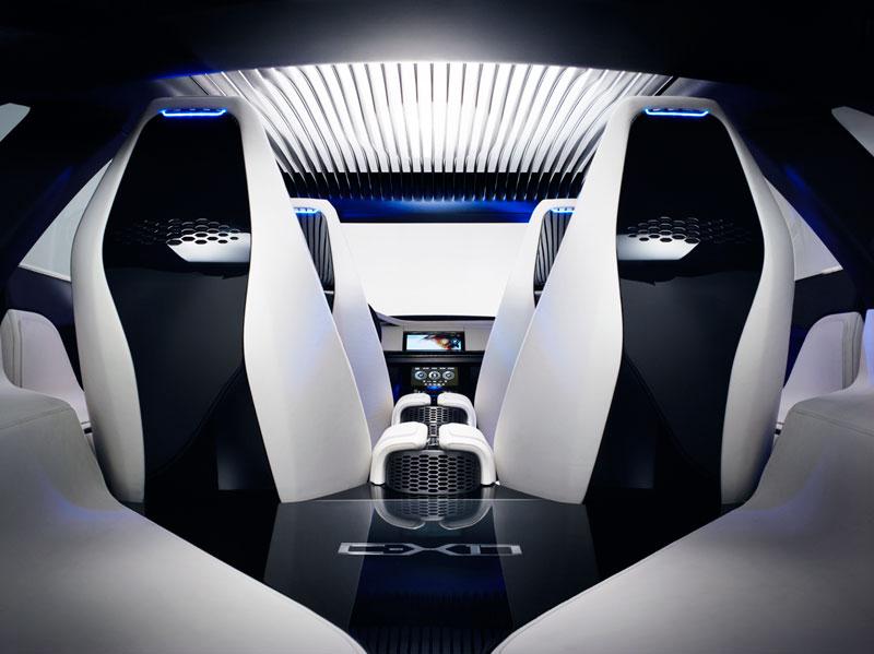 Foto Interiores Jaguar Cx17 Concept 2013