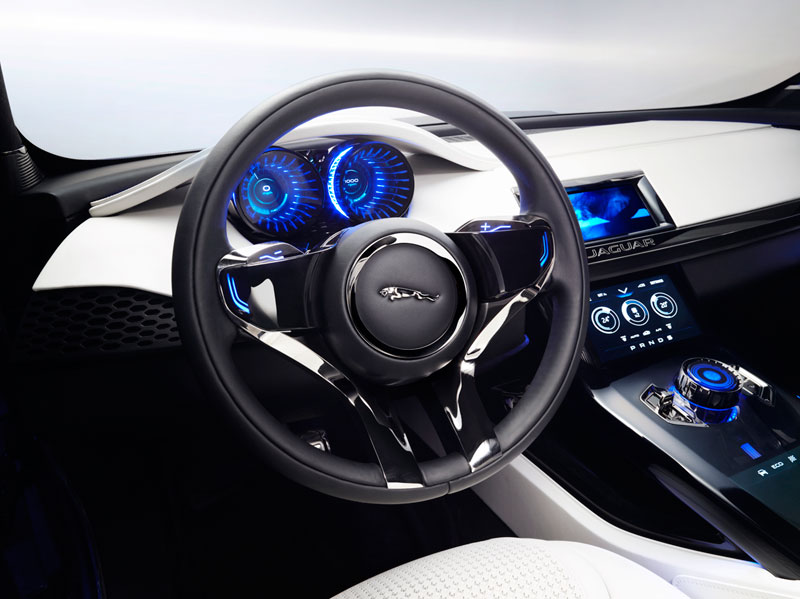 Foto Salpicadero Jaguar Cx17 Concept 2013