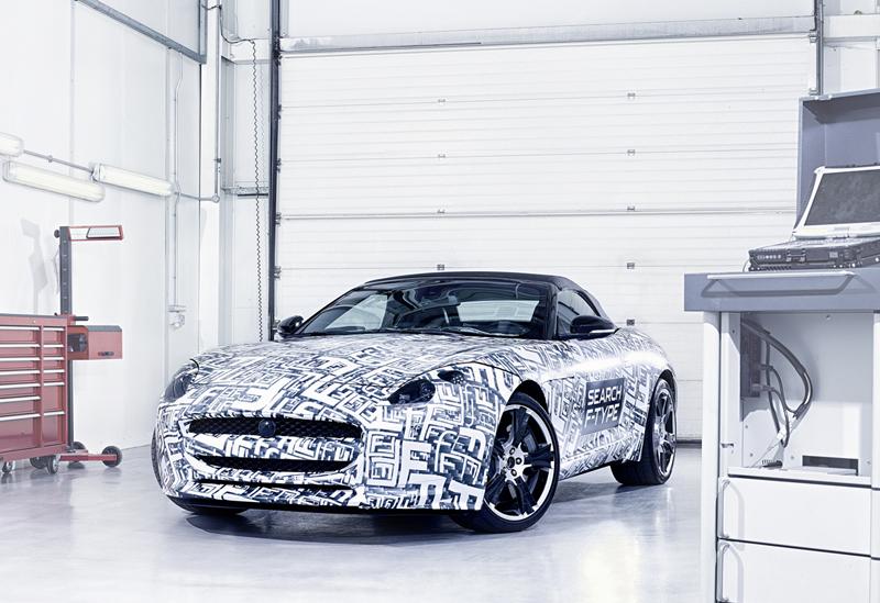 Foto Delantera Jaguar F Type Descapotable 2012