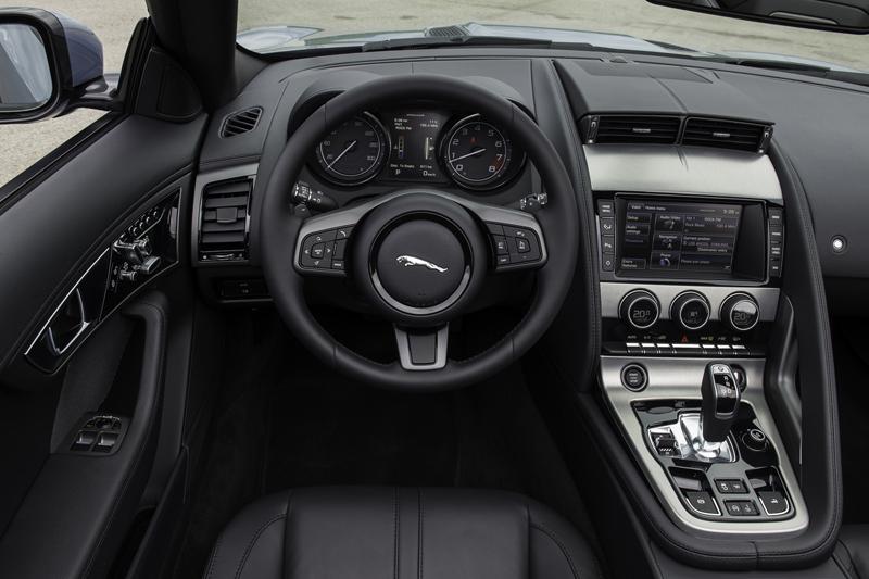 Foto Interiores Jaguar F Type Descapotable 2012