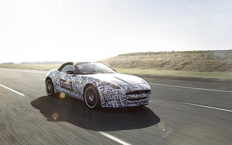 Foto Perfil Jaguar F Type Descapotable 2012