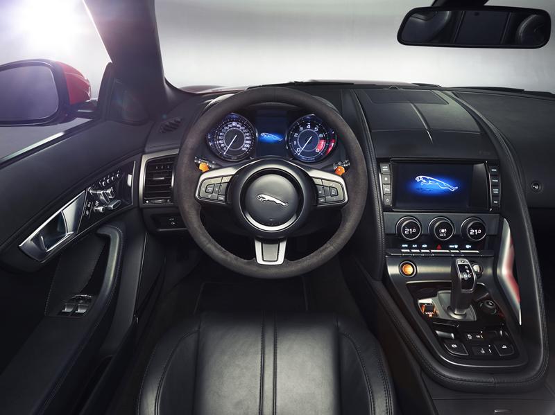 Foto Salpicadero Jaguar F Type Descapotable 2012