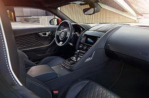 Foto Interiores (3) Jaguar F-type-svr Cupe 2016