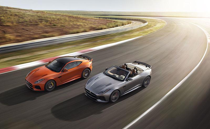 Foto Exteriores Jaguar F Type Svr Cupe 2016