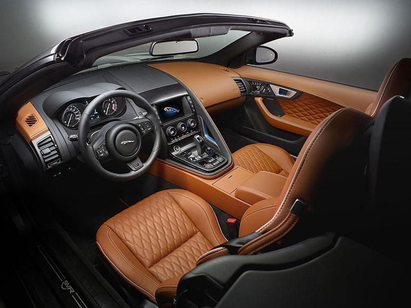 Foto Interiores Jaguar F Type Svr Cupe 2016