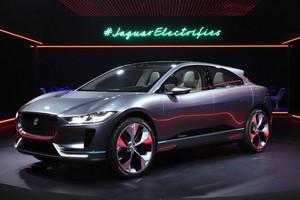 Foto Delantera Jaguar I-pace Concept 2016