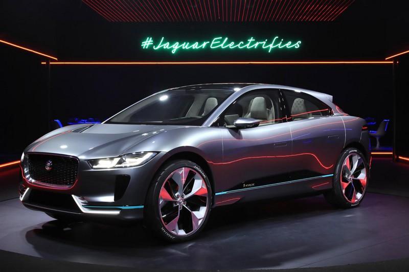 Foto Delantera Jaguar I Pace Concept 2016