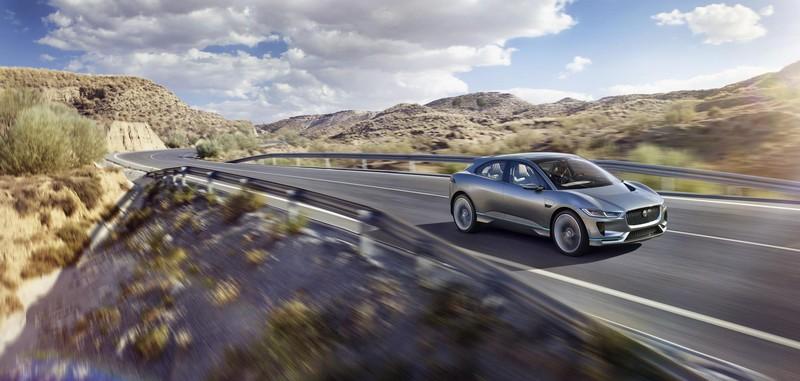 Foto Exteriores Jaguar I Pace Concept 2016