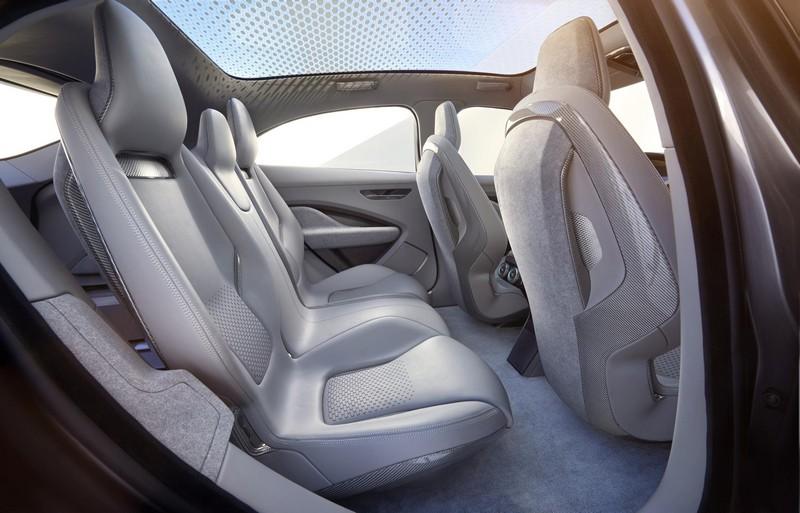 Foto Interiores Jaguar I Pace Concept 2016