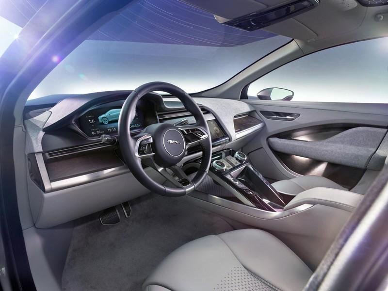 Foto Salpicadero Jaguar I Pace Concept 2016