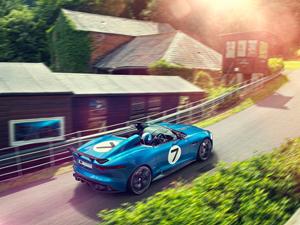 Foto Exteriores (1) Jaguar Project-7 Descapotable 2013