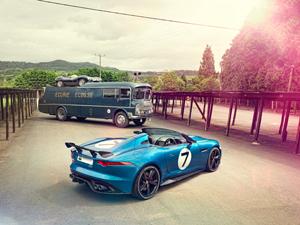 Foto Exteriores (11) Jaguar Project-7 Descapotable 2013