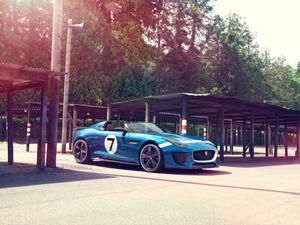 Foto Exteriores (3) Jaguar Project-7 Descapotable 2013