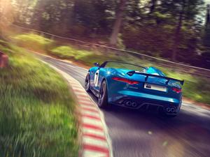 Foto Exteriores (9) Jaguar Project-7 Descapotable 2013