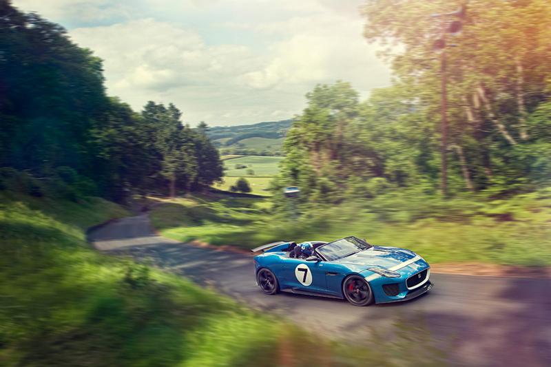 Foto Exteriores Jaguar Project 7 Descapotable 2013