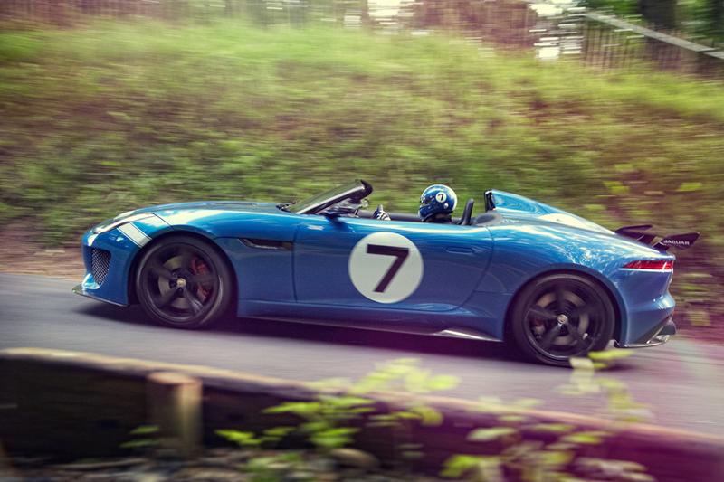 Foto Lateral Jaguar Project 7 Descapotable 2013