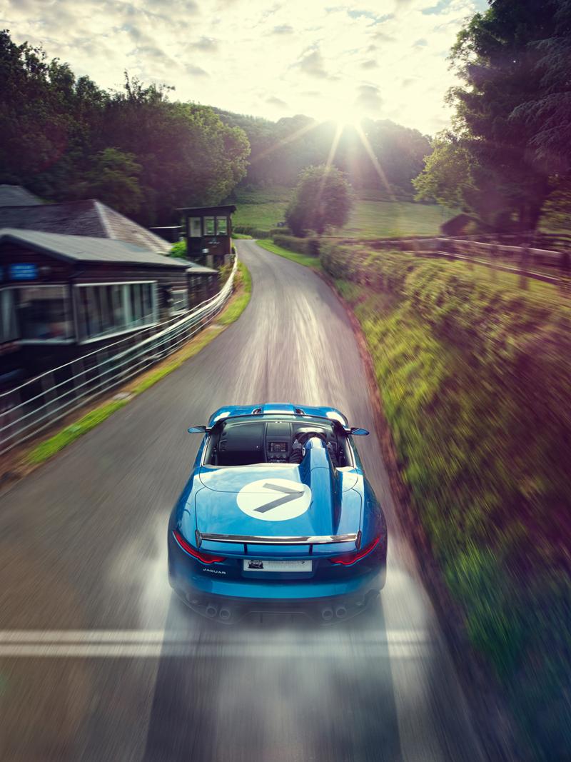 Foto Trasera Jaguar Project 7 Descapotable 2013