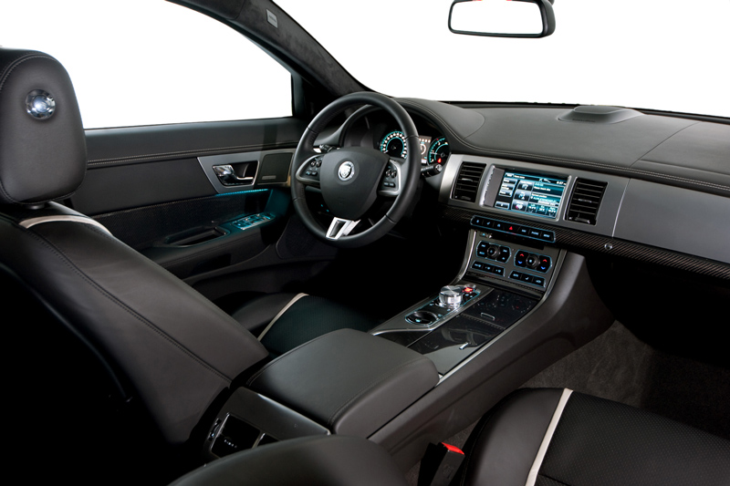 Foto Interiores-(1) Jaguar Xf Sedan 2011