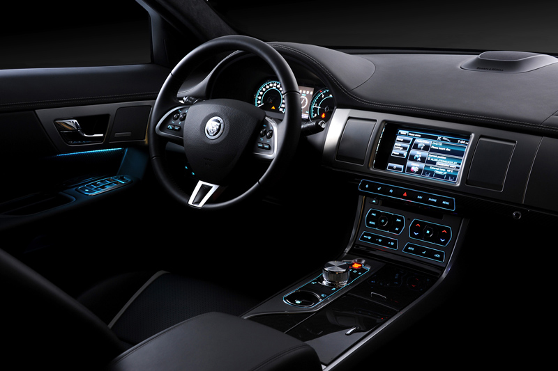 Foto Interiores-(3) Jaguar Xf Sedan 2011