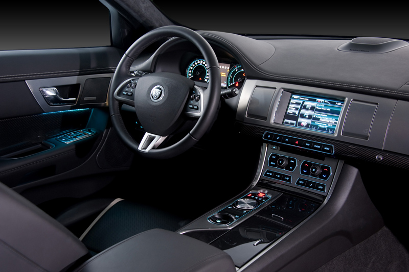 Foto Interiores-(4) Jaguar Xf Sedan 2011