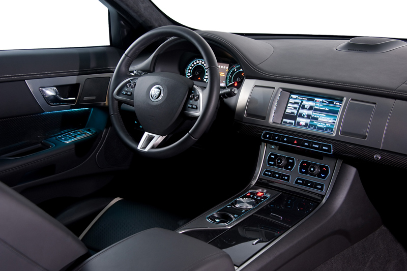 Foto Interiores-(5) Jaguar Xf Sedan 2011