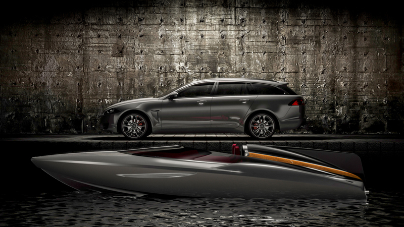 Foto Lateral Jaguar Xf Sportbrake Speedboat Familiar 2012
