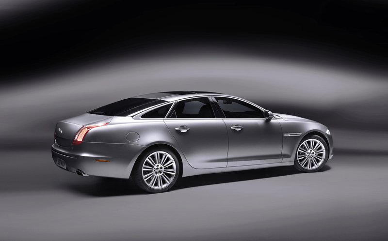 Foto Lateral Jaguar Xj Sedan 2009