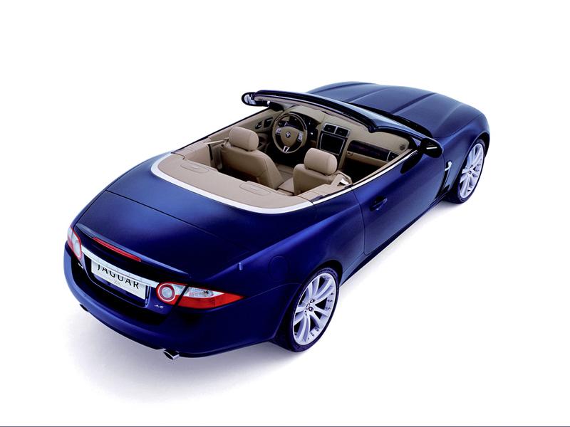 Foto Lateral Jaguar Xk Descapotable 2009