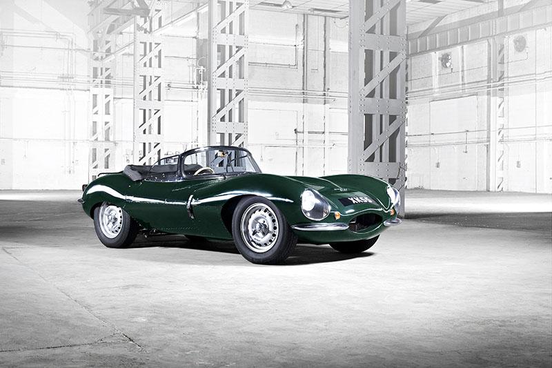 Jaguar XKSS de 1957 fabricado en 2016