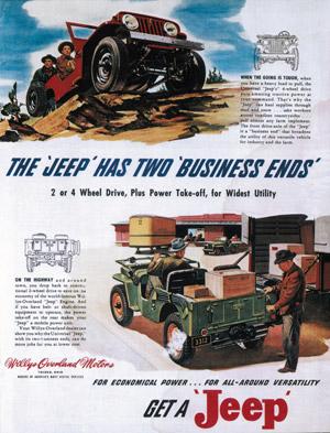 Foto jeep 65-aniversario