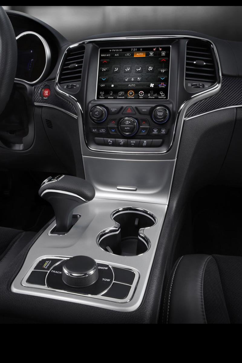 Foto Interiores Jeep Grand Cherokee Suv Todocamino 2013