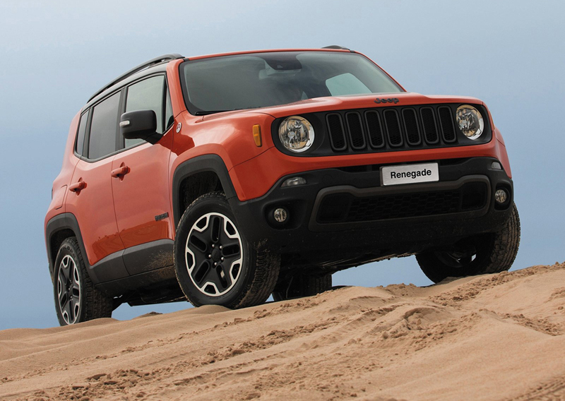 Jeep Renegade, ya disponible en España