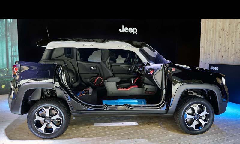 Foto Tecnicas Jeep Renegade 4xe Suv Todocamino 2020