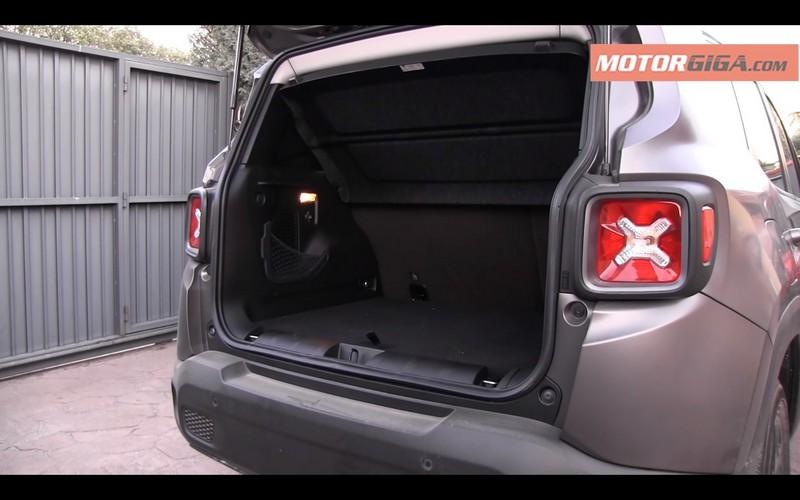 Foto Interiores Jeep Renegade Prueba Suv Todocamino 2016