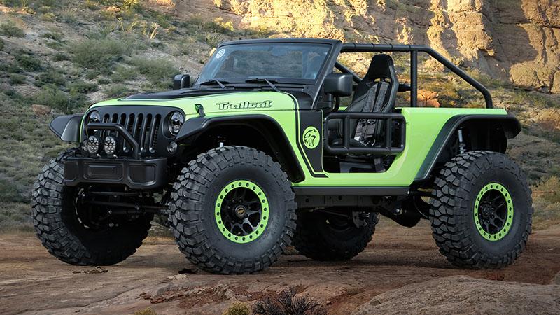 Foto Exteriores Jeep Trailcat Concept Concept 2016