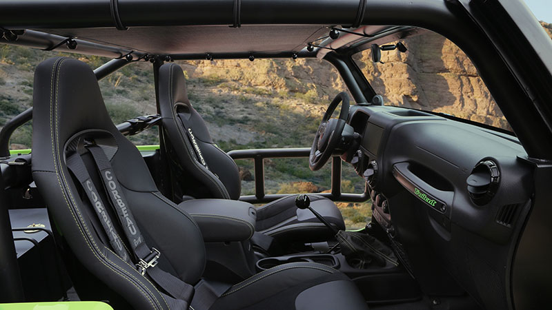 Interior JEEP Trailcat Concept