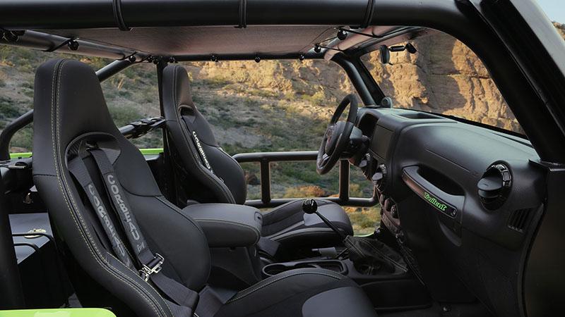 Foto Interiores Jeep Trailcat-concept Concept 2016