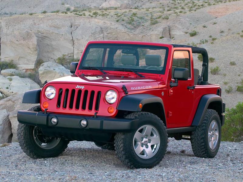 Foto Delantero Jeep Wrangler Suv Todocamino 2006