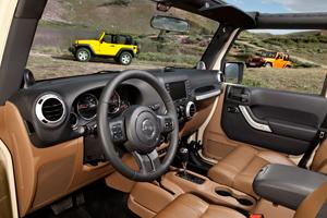 Foto Interiores-(1) Jeep Wrangler Suv Todocamino 2010